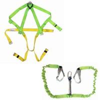 Bộ dây đai an toàn chống sốc 2 móc thép Everest