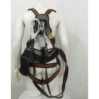 Bộ dây đai an toàn toàn thân chống sốc 2 móc nhôm Kukje