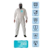 Quần áo chống hóa chất AlphaTec 2000